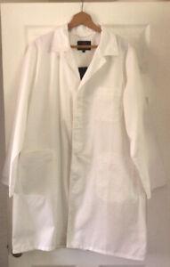 Proforce White Polycotton Work Coat - Lab - Medical - Warehouse Size S - NEW