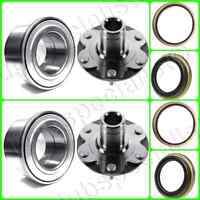 Front Hub & Bearing &SEAL FOR TOYOTA 4RUNNER TACOMA TUNDRA SEQUOIA 4WD ONLY PAIR