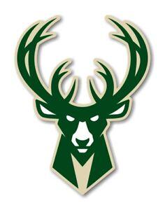 Milwaukee Bucks Decal / Sticker Die cut