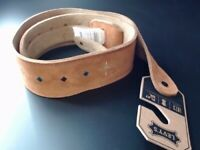 MG17JF-BLK Levys Leathers Guitar Strap
