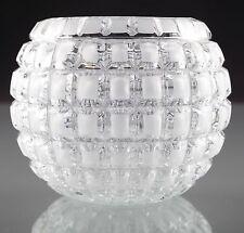 Runde Deko-Blumentöpfe & -Vasen im Vintage -/Retro-Stil aus Glas