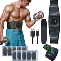 zociko EMS Muscle Stimulator, Muscle Toner Abs Trainer Abdominal Electronic Belt