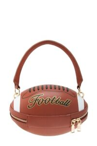 Women's Football Shape Shoulder Bag