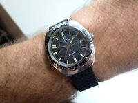 Super Rare CYMA Swiss 'Divingstar' 20ATM Vintage Diving Watch, Cyma Cal. R.485.2