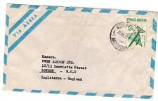 Argentina -> Uk 1969 airmail cover - charity sale
