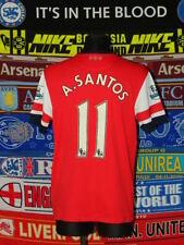 5/5 Arsenal Adultes L 2012 #11 Santos football shirt jersey trikot football
