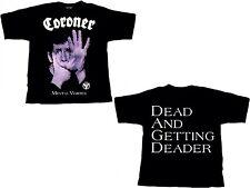 CORONER - Mental Vortex - T-Shirt - Plus Size XXXL - 3XL - Neu - Übergöße
