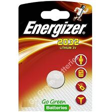 1 x Energizer CR2032 3V Lithium Coin Cell Battery 2032, DL2032, BR2032, SB-T15