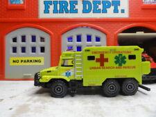 MAJORETTE FIRE URBAN SEARCH & RESCUE ZETROS CUSTOM KITBASH UNIT