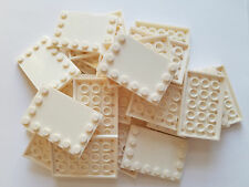 Lego White Tile Modified 4x6, Part 6180, Element 4163986, Qty:25 - New