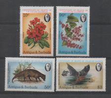 D336 Antigua & Barbuda 669/70 postfris Bloemen / Dieren