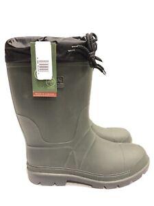 Kamik Men's Hunter, Insulated Waterproof Snow Boots, Size 12M.