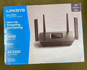 Linksys (EA8300-NP) - Max Stream Dual Band Wireless Router - Black....NEW!!!