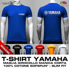 T-Shirt YAMAHA motogp moto gp mxgp uomo aderente slim fit maglia maglietta