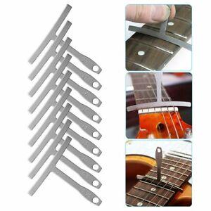 9X Guitar Radius Gauge & Guitar Steel String Gauge Ruler Measuring Luthier Tools