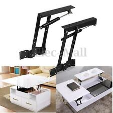 1pair Lift Up Top Coffee Table Lifting Frame Mechanism Spring Hinge Hardware DIY