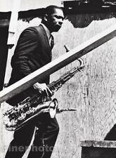 1960s Vintage JOHN COLTRANE Saxophonist By WILLIAM CLAXTON Jazz Music Photo Art