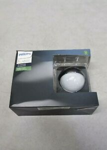 Philips 541730 Hue Outdoor Motion Sensor- Black and White