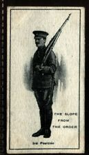 Tobacco Card, Imperial Canada, INFANTRY TRAINING, 1915, The Slope Three, #6