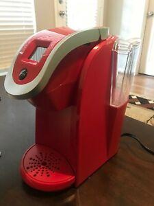 Keurig 2.0 K200 Coffee Maker K Compact Single Serve K Cup Pod Brewer, Red