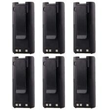 6x BP-210N BP-222N Battery for ICOM IC-A6 IC-A24 IC-V8 IC-V82 IC-U82 Radio