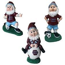 Aston Villa Colours Football Fan Garden Gnome