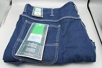 Mens Full Blue Carpenter Jeans Sz 56x28