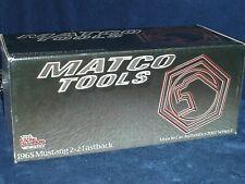 ERTL AUTHENTICS 1/18 MATCO TOOLS 1965 FORD MUSTANG 2 + 2 FASTBACK MET GREEN