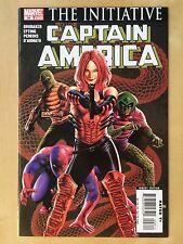 MARVEL Civil War CAPTAIN AMERICA #28 Comic Book THE INITIATIVE 2007 Avengers