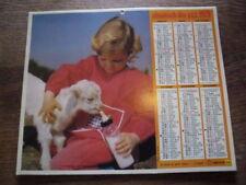 ALMANACH.CALENDRIER DES PTT.1979 / ENFANT.BREBIS..TBE. IDEE CADEAU ANNIVERSAIRE