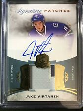 2015-16 The Cup Jake Virtanen Signature Patches Rookie Auto Canucks /99