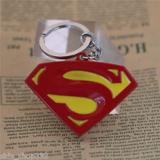 SUPERMAN Man of steel DC Comics Movie enamel coated metal Key chain cosplay