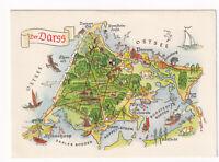uralte AK Motivkarte Der Darß Ostsee Prerow Ahreshoop Wieck Born 1965 //09