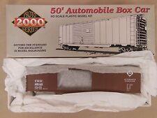 HO SCALE PROTO 2000 ERIE #65045 50' AUTOMOBILE BOX CAR W/END DOORS KIT