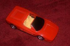 Vintage Blue Box Nicoles Deluxe Light up Dream mansion dolls house Ferrari car