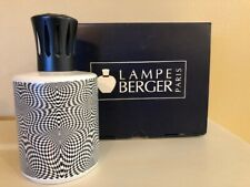 Lampe Berger Lamp Black and White Pattern 3551 RETIRED