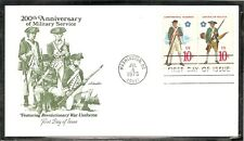 US SC # 1565 And 1568 Continental Marines , Militia FDC. Artmaster Cachet
