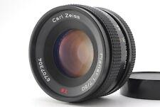 Near MINT CONTAX Carl Zeiss Planar T* 50mm f/1.7 AEJ Lens from JAPAN