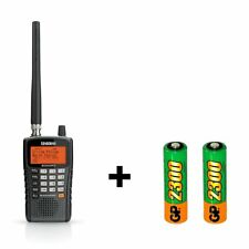 Uniden BCD325P2 Phase II Digital Handheld Scanner and Rechargeable Batteries Bun