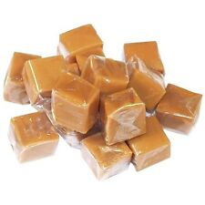 SweetGourmet Classic Vanilla Caramel Wrapped Squares, 5Lb FREE SHIPPING!