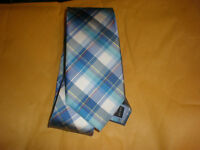 TOMMY HILFIGER MEN'S PLAID NEW TIE