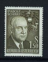 AUSTRIA 1960 MNH SC.651 Adolf Schart President