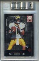 2000 Donruss Elite #183 Tom Brady Rookie Card RC Graded BGS MINT 9 1110/2000