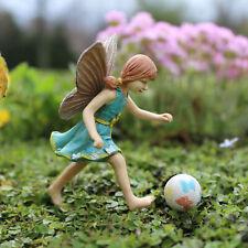 Miniature Dollhouse Fairy Garden - Fairy Jenna With Ball - Accessories