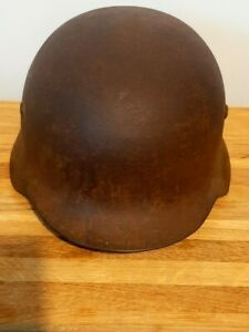 "WWI WW2 Austro-Hungarian steel helmet M38 ""Berndorf"" RRR"