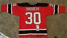 NHL Legend Martin Brodeur Signed Devils Jersey (JSA COA)