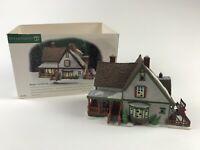 NIB Dept 56 New England Village Series 1999 Harper's Farmhouse - 56612 RETIRED