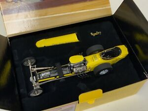 1/18 GMP Greer Black Prudhomme Slingshot Dragster in Yellow  JD504