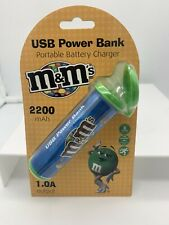 Brand new iHip m&m's candy Portable Power Bank Phone Battery Charger  (GREEN)
