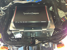 Harley Davidson Amp Wiring Kit & Mounting Bracket for Batwing PBR300X2 PBR300X4
